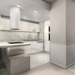 Modern style kitchen by ZAZA studio Modern