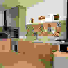 L2 Arquitetura Cocinas de estilo moderno Cerámico Multicolor