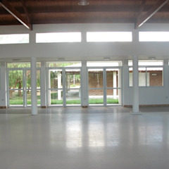 Modern media room by Lineasur Arquitectos Modern Granite