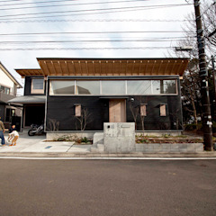 Eclectic style houses by すわ製作所 Eclectic
