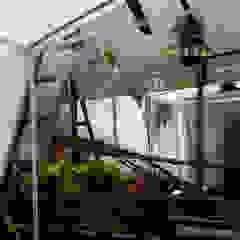 NİŞANTAŞI TERAS PEYZAJ PROJE&UYGULAMA // NISANTASI TERRACE LANDSCAPE PROJECT&APPLICATION Rustik Balkon, Veranda & Teras AYTÜL TEMİZ LANDSCAPE DESIGN Rustik