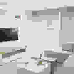 Proyecto sala Salas modernas de Monica Saravia Moderno