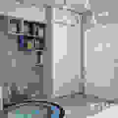Mieszkanie przy Marymonckiej Skandynawski pokój dziecięcy od MIKOŁAJSKAstudio Skandynawski