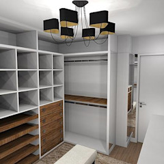 Ruang Ganti Modern Oleh Danielle Barbosa DECOR DESIGN Modern