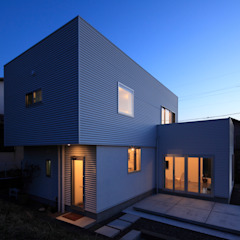久保田正一建築研究所 Minimalist houses Metal White