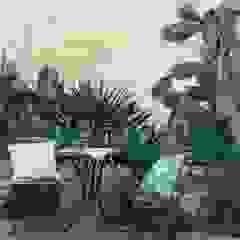 Vườn phong cách Địa Trung Hải bởi Boite Maison Địa Trung Hải
