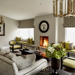 Elegance and colour in a Dulwich home Modern living room by Tailored Living Interiors Modern