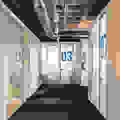 Kantor & Toko Gaya Industrial Oleh Iglesias-Hamelin Arquitectos c.b. Industrial