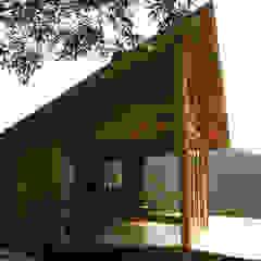 Suite de madera TdE Casas modernas de Taller de Ensamble SAS Moderno Madera Acabado en madera