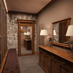 Colonial style dressing rooms by Архитектура Интерьера Colonial