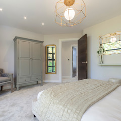 WESTMINSTER RD, BRANKSOME. DORSET - BEDROOM by Jigsaw Interior Architecture