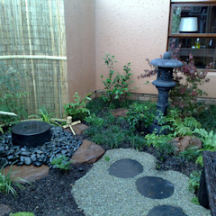 WIGGILL Asian style garden by Japanese Garden Concepts Asian
