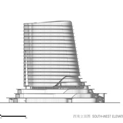 Gemdale Changshou Road by Architecture by Aedas Modern