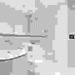 Modern New Home in Hampstead - Bathroom Black and Milk   Interior Design   London BathroomMirrors