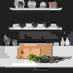 Modern New Home in Hampstead - Kitchen Black and Milk   Interior Design   London KitchenCutlery, crockery & glassware
