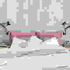 Modern New Home in Hampstead - guest bedroom Black and Milk   Interior Design   London BedroomBeds & headboards