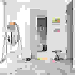 Modern New Home in Hampstead - hallway Black and Milk   Interior Design   London Corridor, hallway & stairsAccessories & decoration