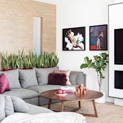 Modern New Home in Hampstead - lounge Black and Milk   Interior Design   London Living roomSofas & armchairs