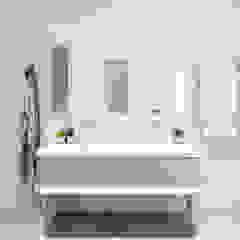 Modern New Home in Hampstead - master bathroom Black and Milk   Interior Design   London BathroomStorage