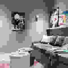 Modern New Home in Hampstead - media room Black and Milk   Interior Design   London Multimedia roomFurniture