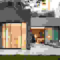 Modern New Home in Hampstead - patio Black and Milk   Interior Design   London Balconies, verandas & terraces Furniture