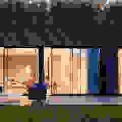 Modern New Home in Hampstead - outside Black and Milk   Interior Design   London Balconies, verandas & terraces Accessories & decoration