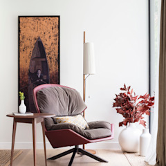 Modern New Home in Hampstead - Reading corner Black and Milk   Interior Design   London Living roomSofas & armchairs