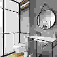 Modern New Home in Hampstead - guest bathroom Black and Milk   Interior Design   London BathroomSinks