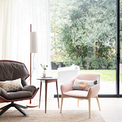 Modern New Home in Hampstead Black and Milk   Interior Design   London Living roomSofas & armchairs