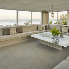 Beach Front House Modern conservatory by JSD Interiors Modern Concrete