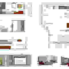 Taverna Home Theatre Sala multimediale moderna di Elia Falaschi Photographer Moderno