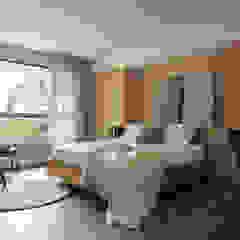 Dormitorios de estilo mediterráneo de 陶璽空間設計 Mediterráneo