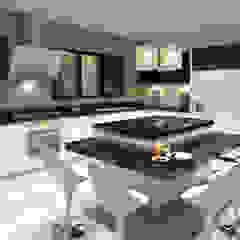 Vivienda Unifamiliar Sostenible - Arquitectura Positiva & Sumart Diseño Cocinas de estilo ecléctico de Arquitectura Positiva Ecléctico