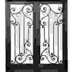 DEL HIERRO DESIGN Classic style houses Iron/Steel Black