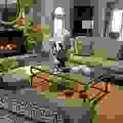 Brecksville Family Room by Kay rasoletti Interior Design Classic Glass