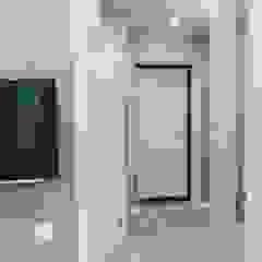 Hunter design Scandinavian style corridor, hallway& stairs Turquoise