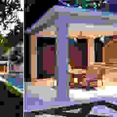 Balcones y terrazas eclécticos de Matthew Murrey Design Ecléctico