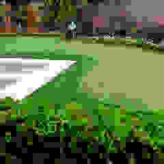 Entertaining Garden - Transitional Landscape Design Eclectic style garden by Matthew Murrey Design Eclectic