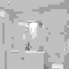 Marquise Elalux Tile Modern Bathroom Marble Grey