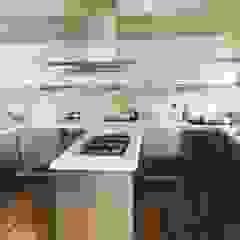 Cocinas de estilo industrial de Akaar architects Industrial