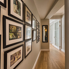 Saffraan Ave Eclectic style corridor, hallway & stairs by House Couture Interior Design Studio Eclectic