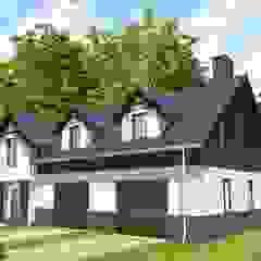 IMU0001 Rustykalne domy od PROMO Pracownia Projektowa Rustykalny
