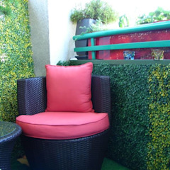Artificial Boxwood Hedges Classic style garden by Sunwing Industries Ltd Classic Plastic