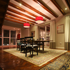 Alteration Close Mediterranean style dining room by Architects Of Justice Mediterranean