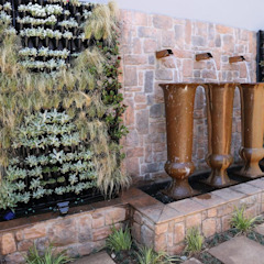 Jardines de estilo mediterráneo de Modiwall Vertical Gardens Mediterráneo