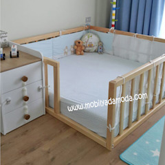 Montessori Bebek Çocuk Odaları Modern Çocuk Odası MOBİLYADA MODA Modern Ahşap Ahşap rengi