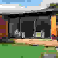 5m x 6m Garden room Dab Den Ltd Jardines de estilo moderno Madera