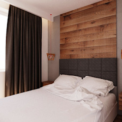 Kamar Tidur Gaya Skandinavia Oleh Ale design Grzegorz Grzywacz Skandinavia