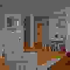 PROJEKTY Śródziemnomorski salon od Design & Home Staging Dagmara Wołoszyn Śródziemnomorski