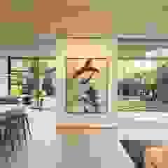 راهرو مدرن، راهرو و راه پله توسط Feldman Architecture مدرن
